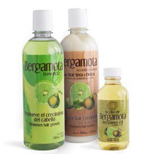 Kit Bergamota Shampoo + Acondicionador + Aceite.