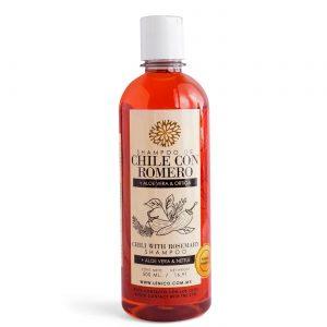 Shampoo de Chile con Romero