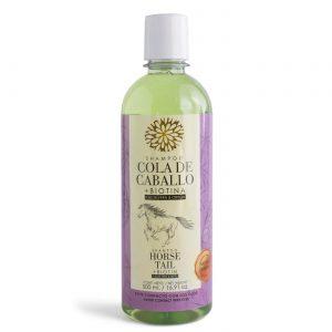 Shampoo de Cola de Caballo con Biotina