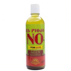 Shampoo de Neem El piojo NO