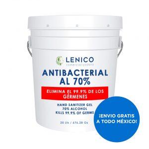 Gel Antibacterial en Cubeta de 20 Litros