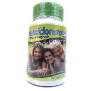 Cloruro de magnesio maxicloruro 100 Cap de 500 mg