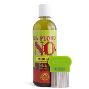 Kit Shampoo El Piojo NO 500 ml + Peine piojero